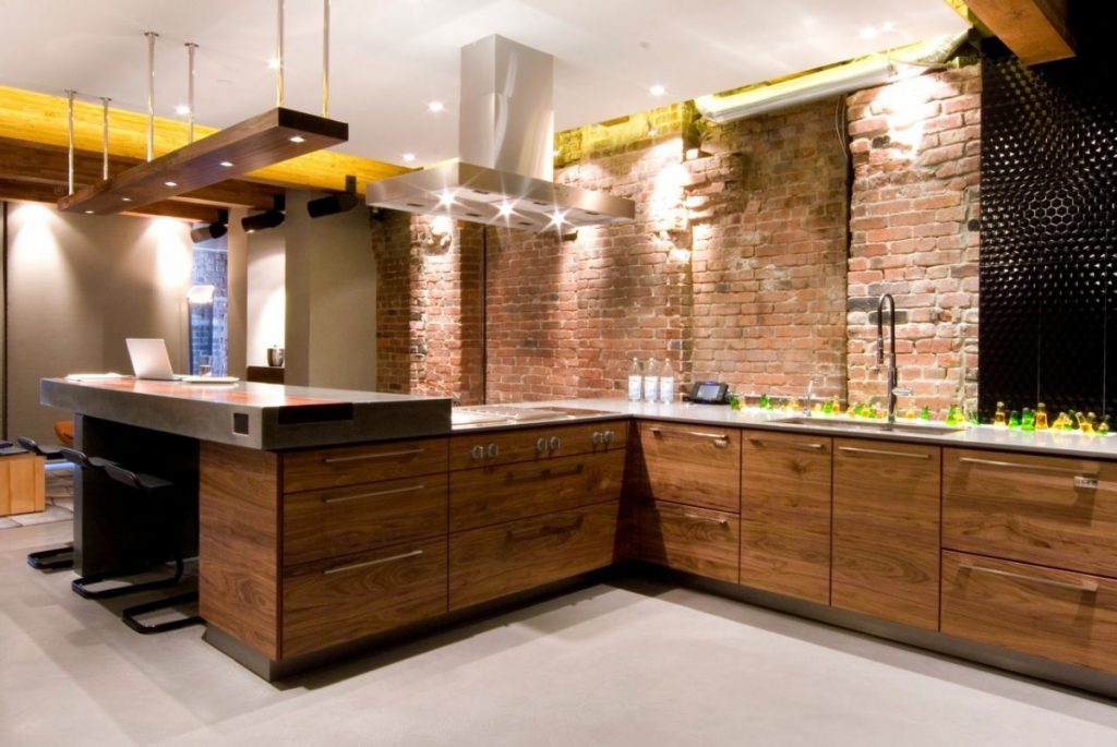 мебель в кухню лофт (25)