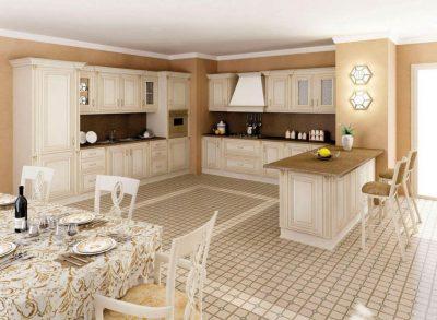 оформление классической кухни (8)