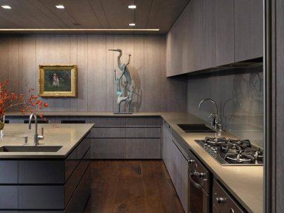 оформление минималистичной кухни (18)