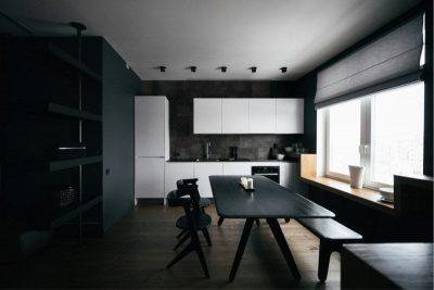 оформление минималистичной кухни (28)
