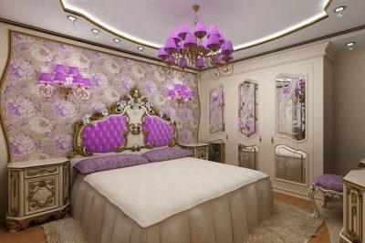 оформление спальни барокко (2)