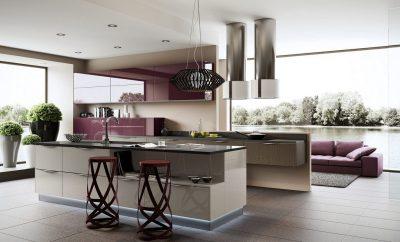 освещение hi-tech кухни (1)