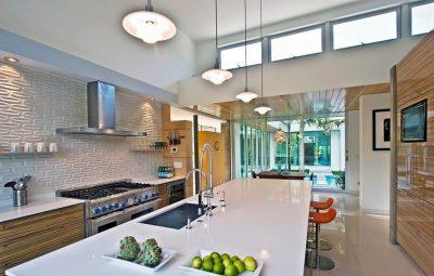 освещение hi-tech кухни (13)