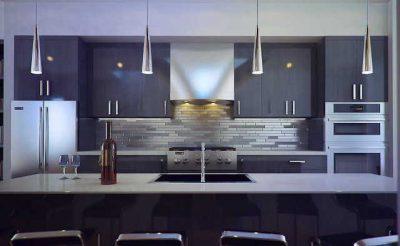 освещение hi-tech кухни (20)