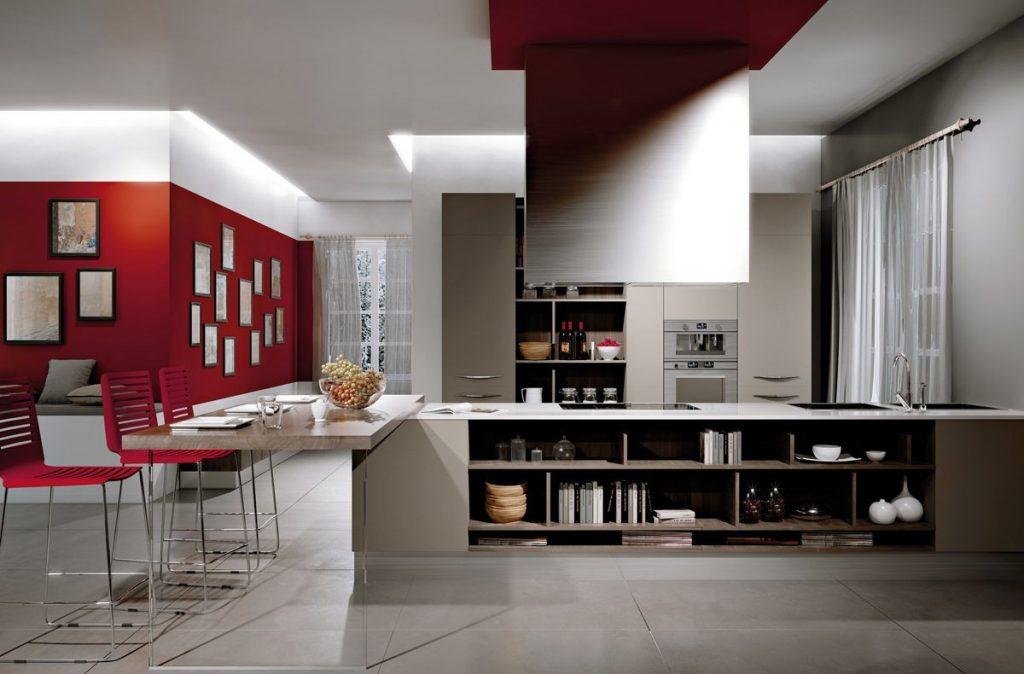 освещение hi-tech кухни (23)