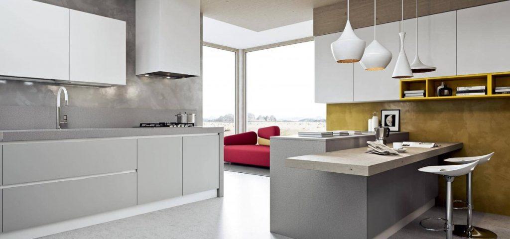 освещение кухни минимализм (2)