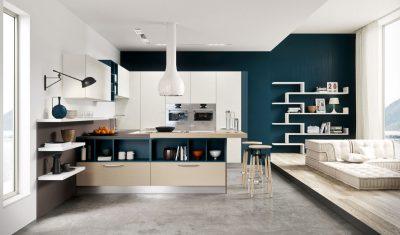 отделка кухни hi-tech (25)