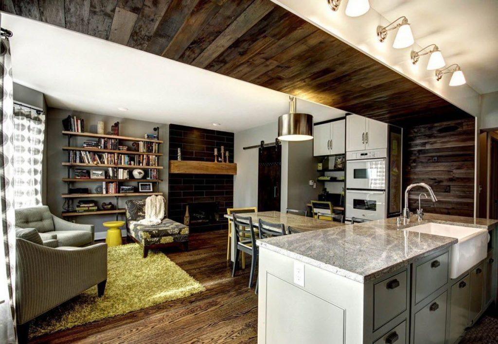 дерево и стекло на потолке 2021 (7)