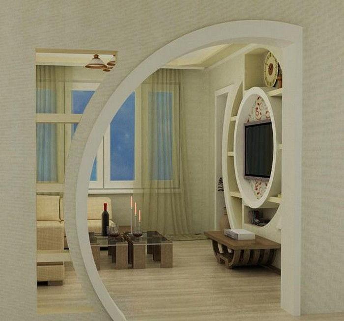 арки из гипсокартона для гостиной фото фотограф