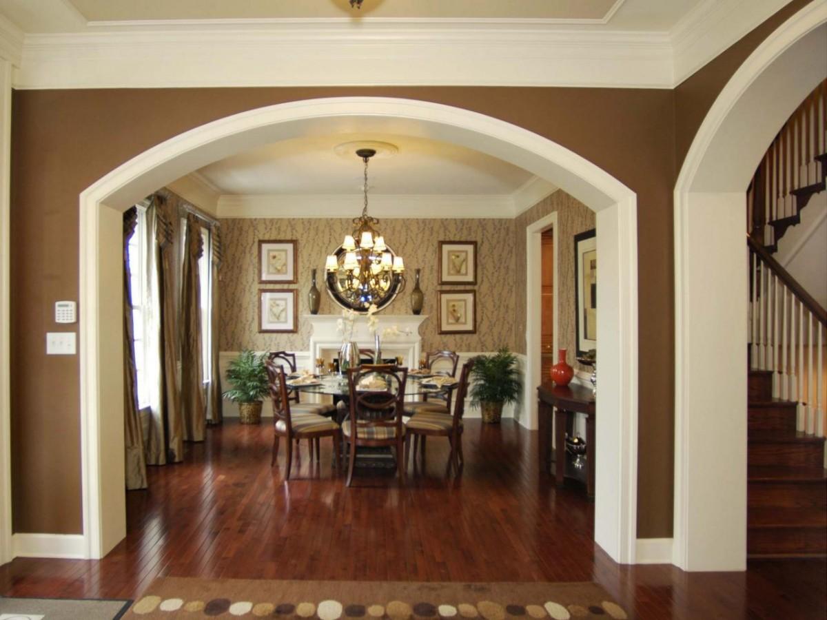 красивые арки из гипсокартона в гостиной фото всё более