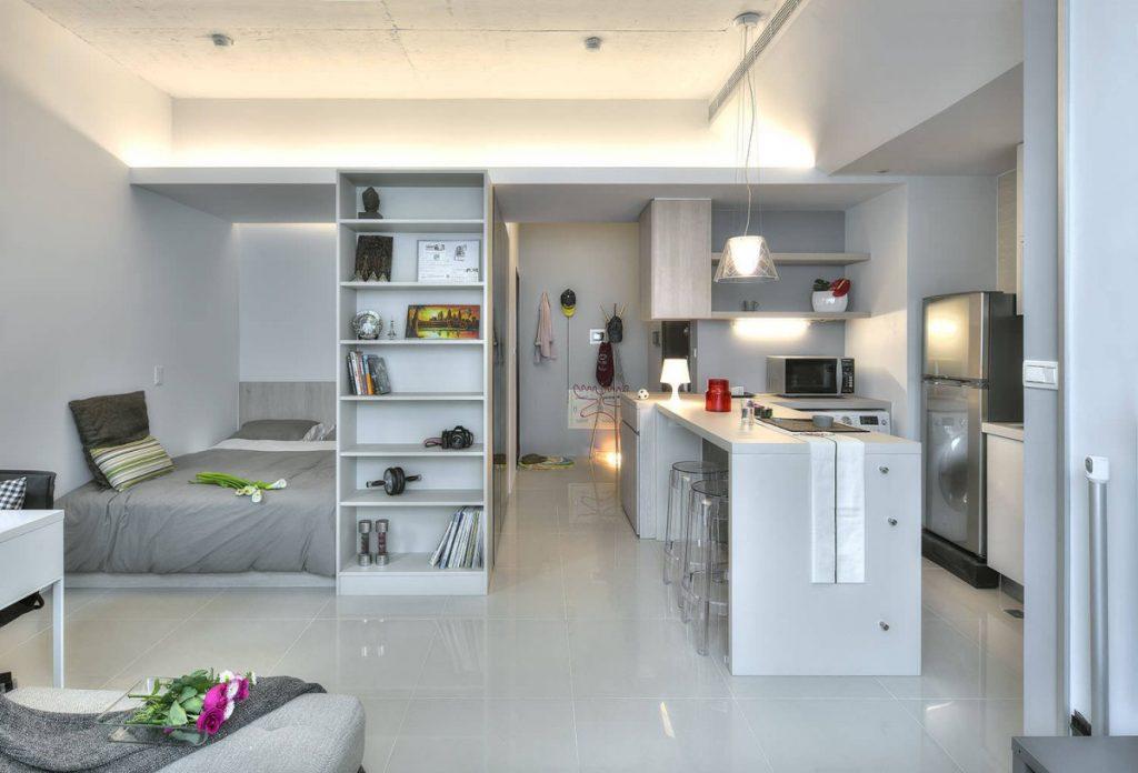 Дизайн квартиры студии (150 интересных новых фото)
