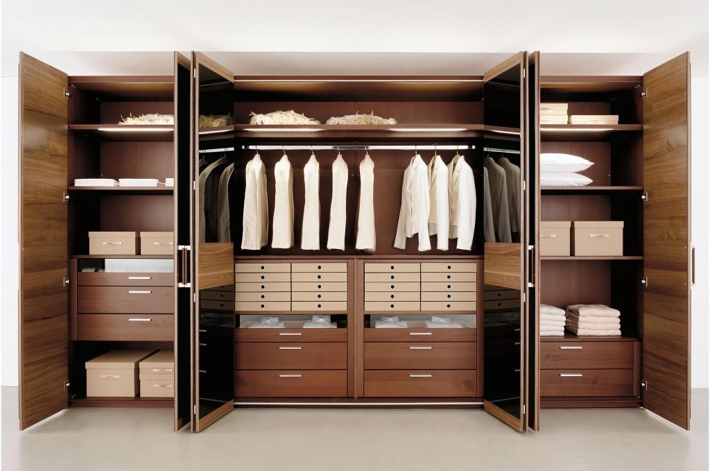 Встроенный гардероб фото