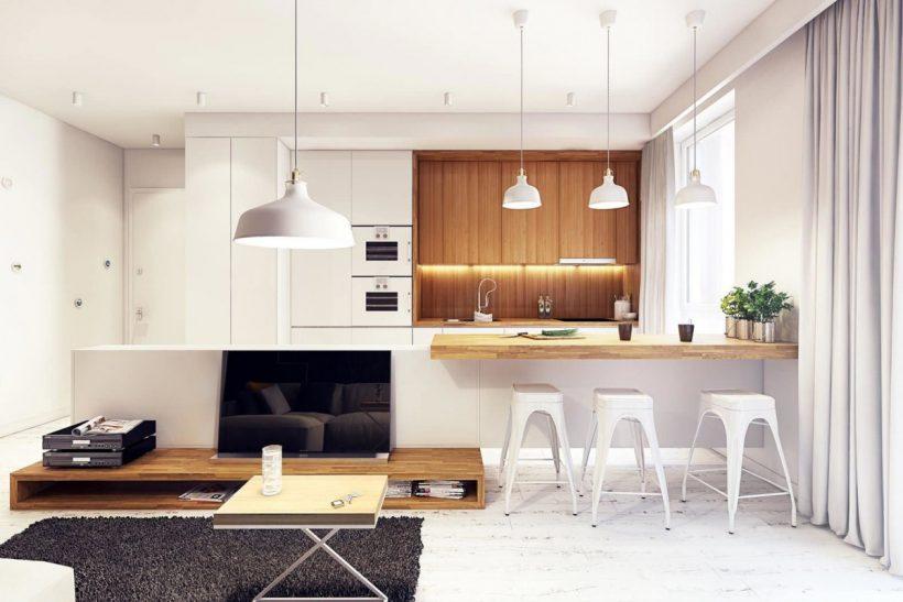 Модный дизайн квартиры 2018 (150 фото интересных интерьеров)