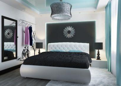 дизайн спальни 2018 150 новых фото стильных интерьеров