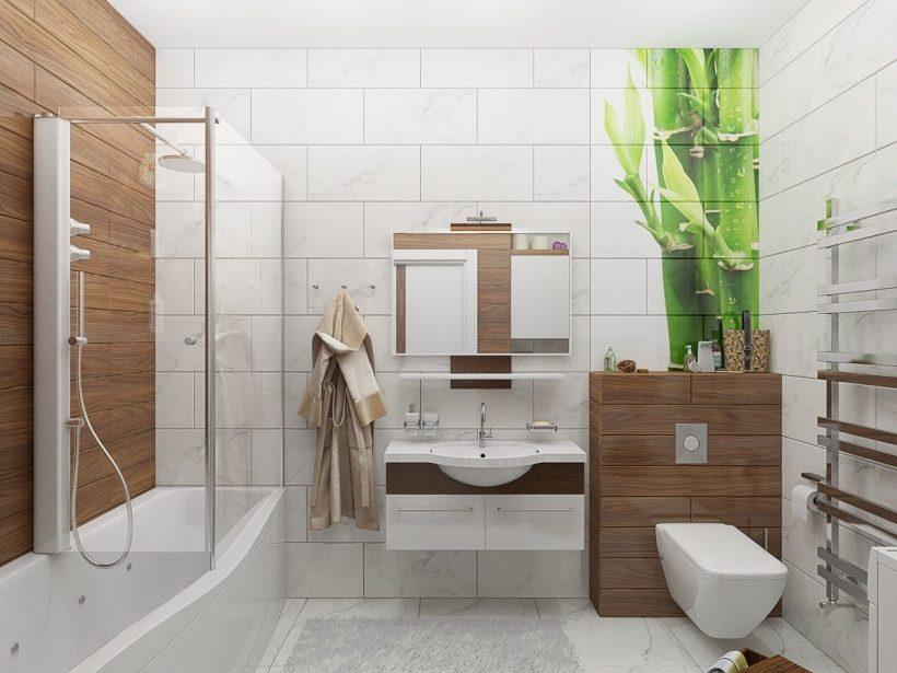 модный дизайн ванной комнаты 2018 200 фото идей и советы