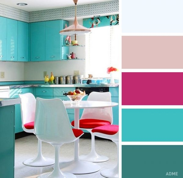 О цветовых сочетаниях интерьере