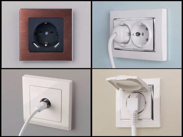 Розетки и выключатели: выбор оптимального размещения