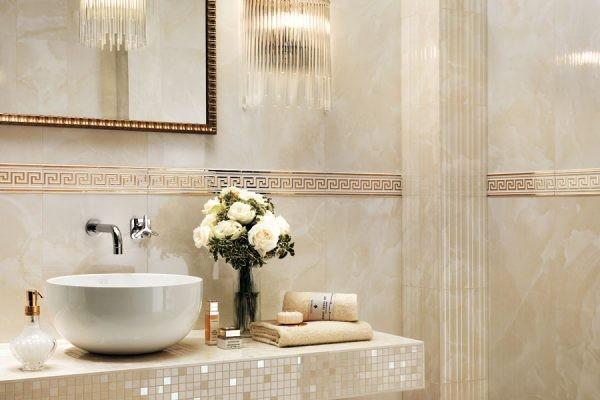Жемчужный интерьер ванной комнаты – доступная домашняя роскошь