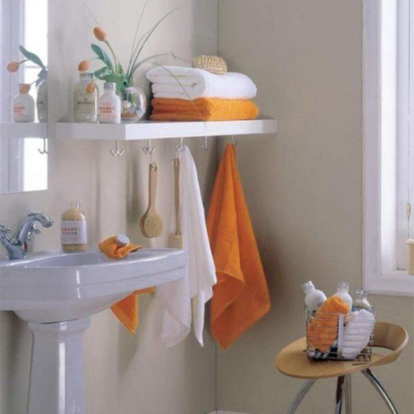 Полки для ванной комнаты, который захочет каждый