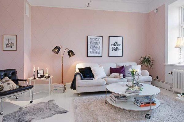Как использовать розовый в интерьере: палитры и идеи