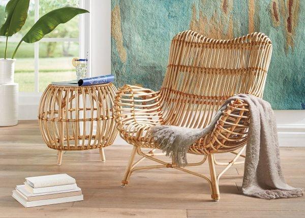Современная плетеная мебель из бамбука и ротанга - Дача