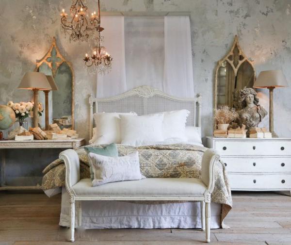 Стиль шато в домашнем интерьере или как обустроить дворец в пределах квартиры
