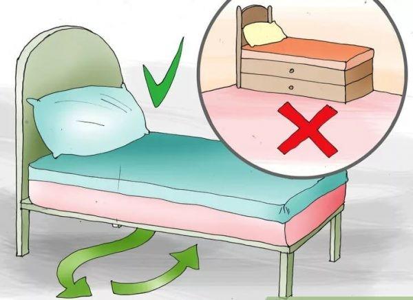 Кровать по фен-шуй: 5 правил установки спального места