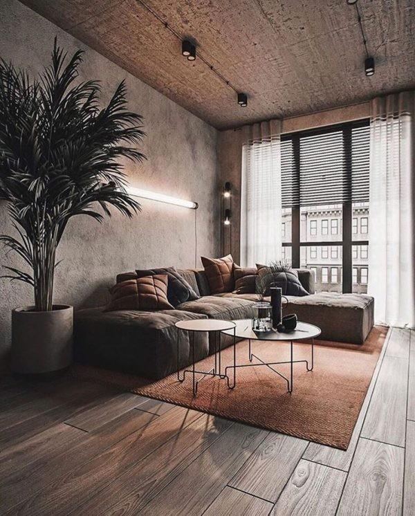 Оформление маленького помещения в стиле лофт, возможно ли это?