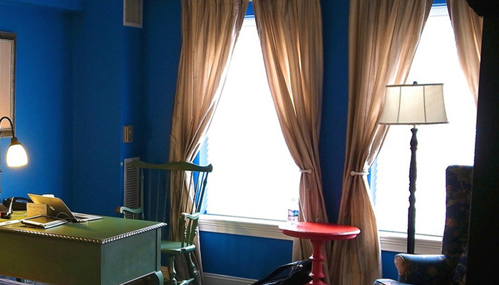 контрастные шторы