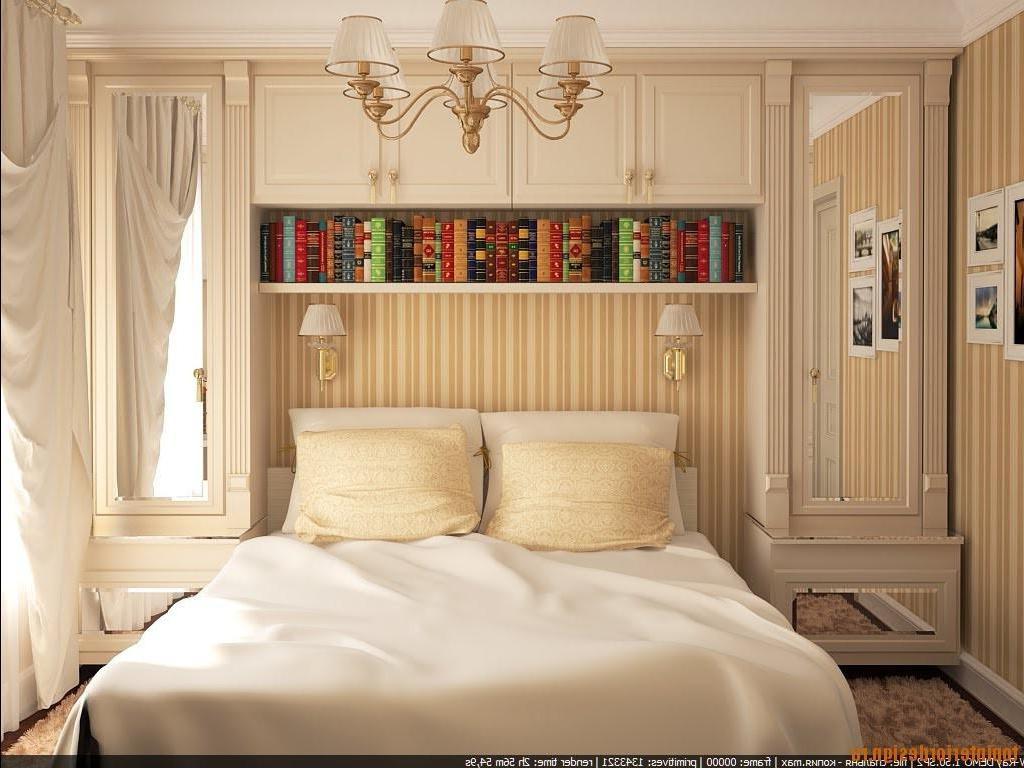 Дизайн малогабаритной спальни с фото