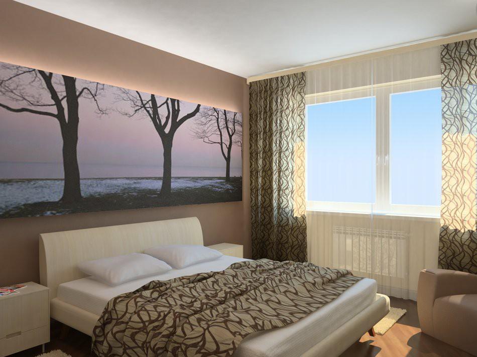 Ремонт для маленькой спальни
