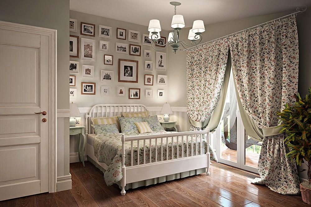 Фото дизайн спален в стиле прованс