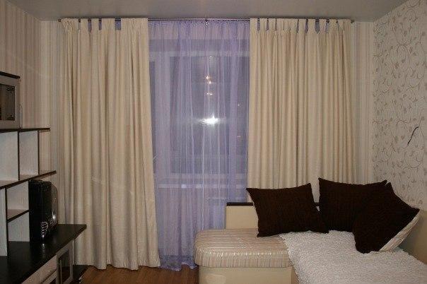 Интерьер штор для зала