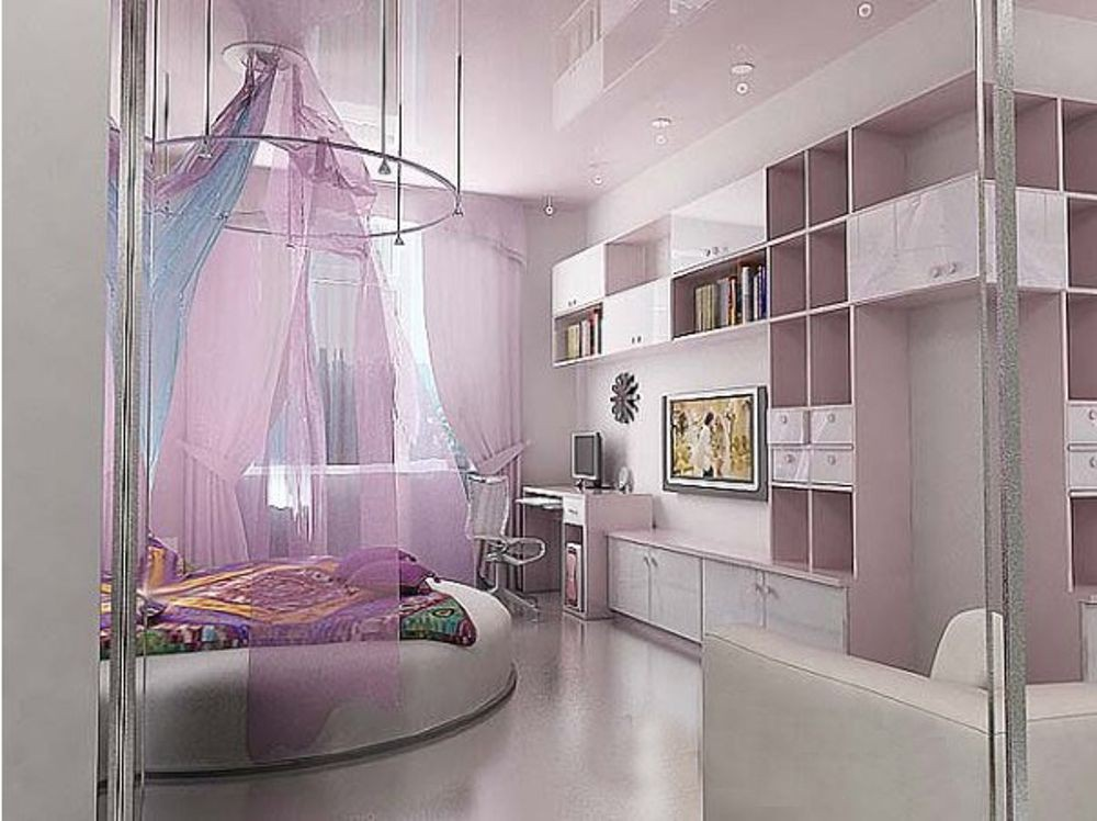 дизайн фото комната для девушки