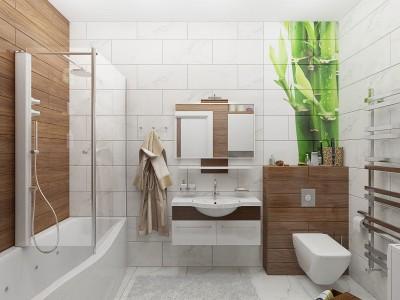 Цветовые решения современной ванны 2018 (42)