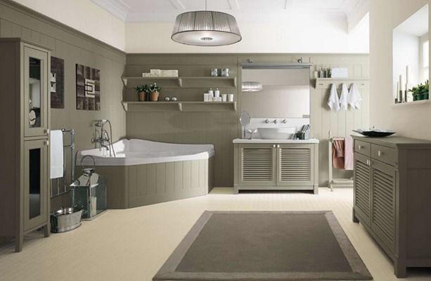 Пестрые узоры в дизайне ванной комнаты