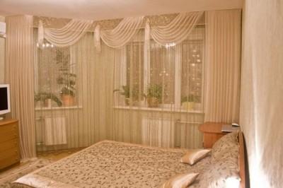 Лёгкие и невесомые шторы для зала (5)