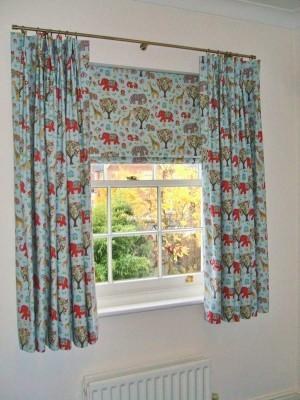 Натуральные шторы для зала (23)