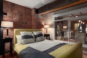 Планировка спальни в стиле лофт (42)
