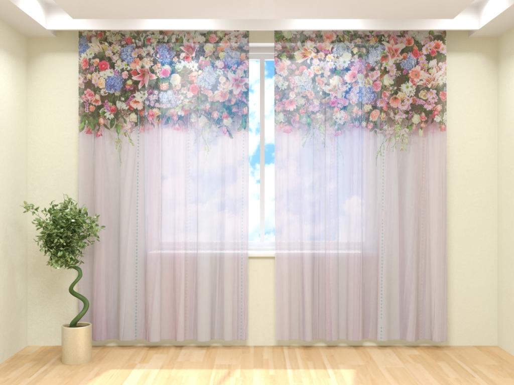 Принты и узоры штор для зала (1)