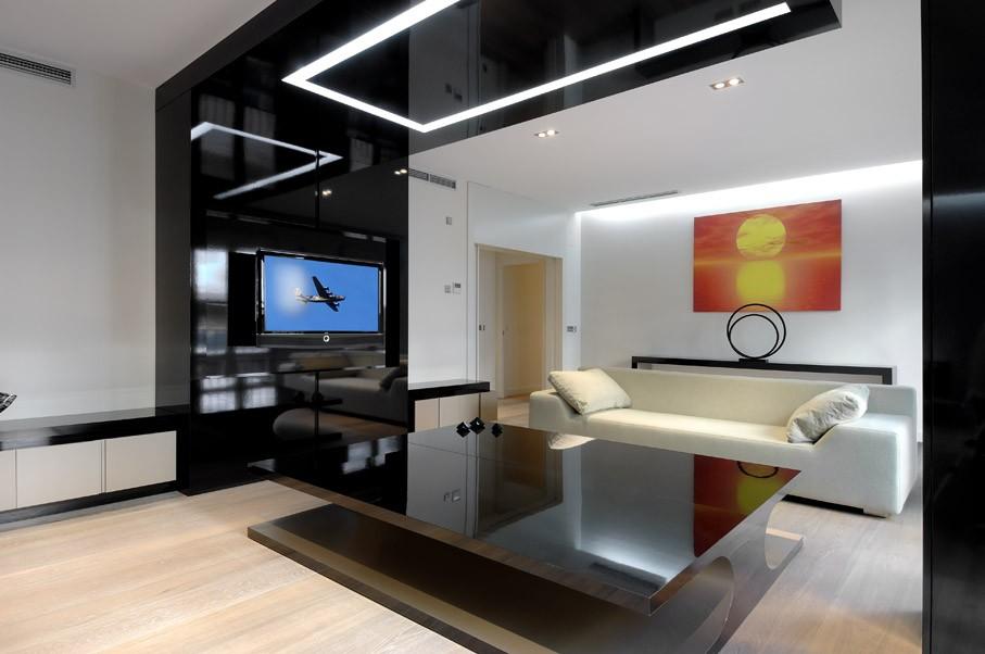 Квартира с дизайнерским ремонтом в современном стиле