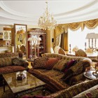цвета и фактуры классической гостиной (13)