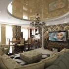цвета и фактуры классической гостиной (14)
