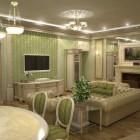 цвета и фактуры классической гостиной (15)