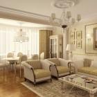цвета и фактуры классической гостиной (2)