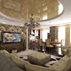 цвета и фактуры классической гостиной (20)