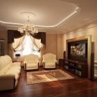 цвета и фактуры классической гостиной (3)