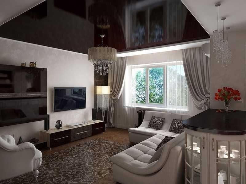 цвета в гостиной арт-деко (4)