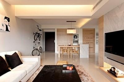 цветовая гамма гостиной в стиле минимализм (18)