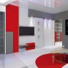 цветовая гамма гостиной в стиле минимализм (25)